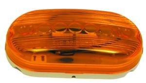Hella Side Marker - Amber Oblong 2x4 Replacement Lens for Side Turn Marker