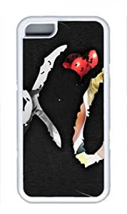 The Weeknd XO Customized Rubber White iphone 5/5s iphone 5/5s Case By Idesigncity Your Best Choice