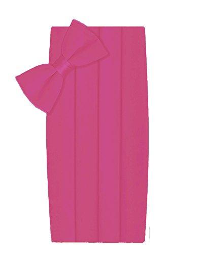 hot pink silk dress - 5