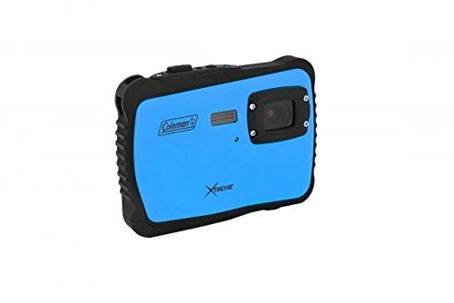 Coleman C6WP-BL Xtreme 12.0 MP/HD Underwater Digital & Video Camera (Blue) by Coleman