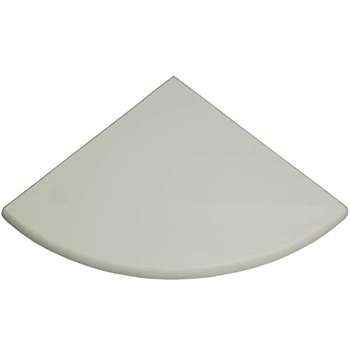(Vogue Tile Premium Quality Thassos White Marble Corner Shelf Polished 9'' (1))