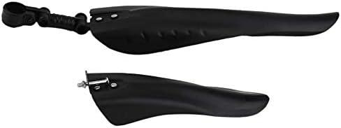Peanutaso Universal Outdoor Fahrrad Schutzbleche aus leichtem Kunststoff Fahrrad Schutzbleche Set Kotflügel für Fahrrad Radfahren Zubehör