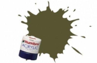 Humbrol 14ml Acrylic Rail Colour Paint Executive Matt (Dark Grey) by - Dark Matt Grey