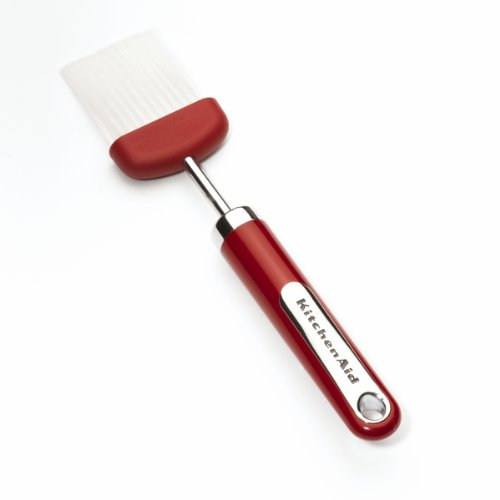 KitchenAid Wide Basting Brush, Red