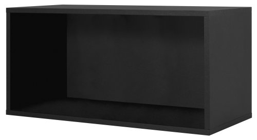Foremost 327706 Modular Large Open Cube Storage System, Black
