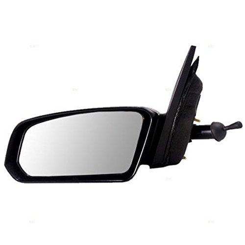03-07 Ion 4-Door Coupe Manual Remote Non-Fold Rear View Mirror Left Driver Side