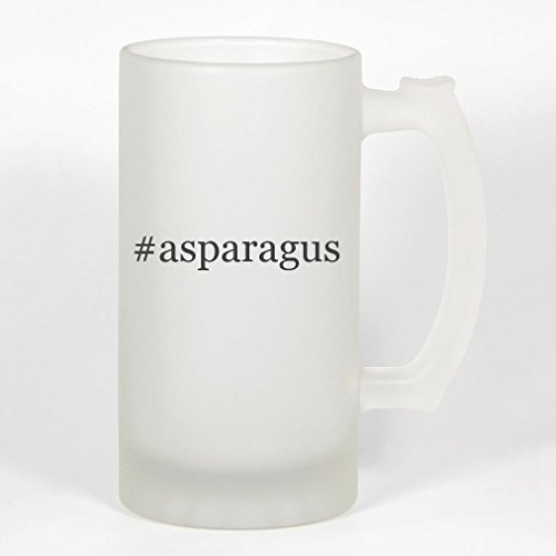 #asparagus - 16oz Frosted Glass Hashtag Stein
