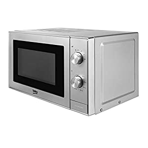 Beko MOC20100S Solo Microwave, Stainless Steel, 700 W, 20 liters, Silver