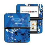 #5: Pokemon XY Blue Limited Edition VINYL SKIN STICKER DECAL COVER for Nintendo 3DS XL / LL Console System