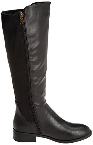 XTI Damen 047383 Stiefel Schwarz (Black)