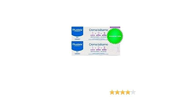 Pack 2 unidades-Crema bálsamo-Mustela: Amazon.es: Salud y cuidado personal