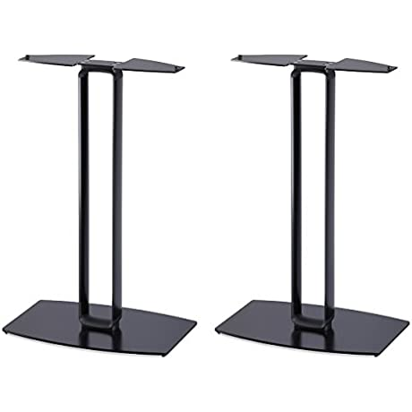 SoundXtra Floor Stands For Bose SoundTouch 30 Pair Black
