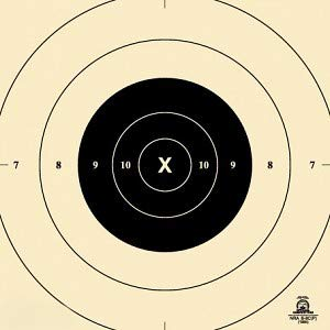 Official NRA Target B8C- 25 Yard Slow Fire Center- 10.5