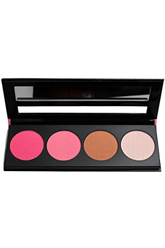 L.A. Girl Beauty Brick Blush Collection, Pinky, 0.77 Ounce (Evening Jewelry Shimmer)