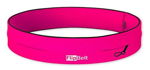 FlipBelt Level Terrain Classic Edition Waist Pack, Hot Pink, XX-Small
