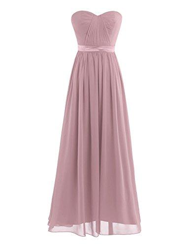 Dusty Rose Bridesmaid Dresses - 7