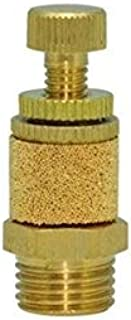"""product image for Clippard SCM-Q Brass Speed Control Muffler, 1/4"""" NPT, Knurled Knob Length Based on Minimum Thread Engagement"""