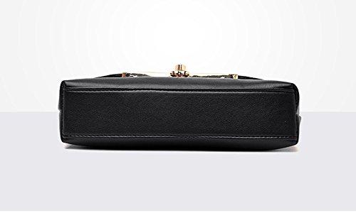Purse Mini Black Pu Women Leather Fashion Bag Grey Strap Crossbody Adjustable Bag Light Flip Cover Cn0qZ6qwXz