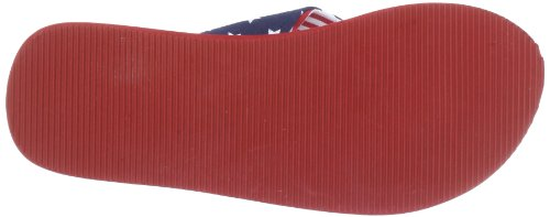 S.Oliver Casual 5-5-57100-30 Unisex-Kinder Zehentrenner Rot (Red Comb 597)