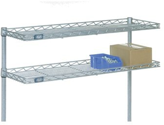 Nexel CS1236C Cantilever Shelf, Wire, 36