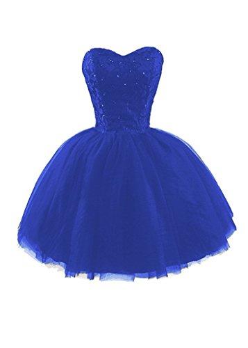 Reale Ball Corto Di Abito Bd125 Promenade A Pizzo Blu Paillettes Casa Ritorno Bessdress Di Di Gown Tulle Con pHTgWwxx1q