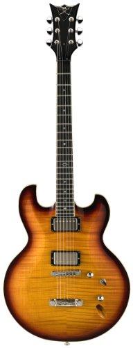 DBZ / Diamond Guitars IMFM-ATB Imperial FM Electric Guitar, Amber Tobacco Burst