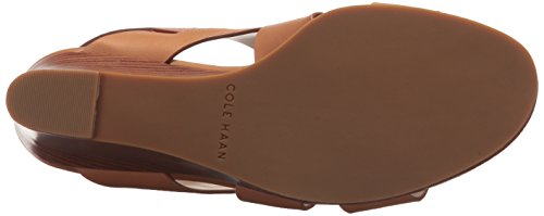 Cole Haan Women's Penelope II Wedge Sandal, Pecan Leather, 7.5 B US by Cole Haan (Image #3)
