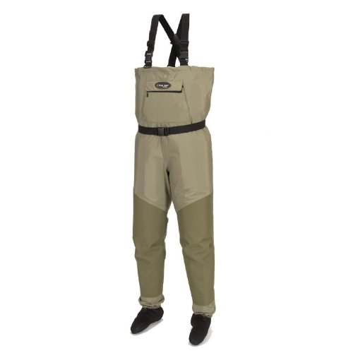 Frogg Toggs Hellbender Microfiber Breathable Stockingfoot Wader, Small, New (Stockingfoot Sage)