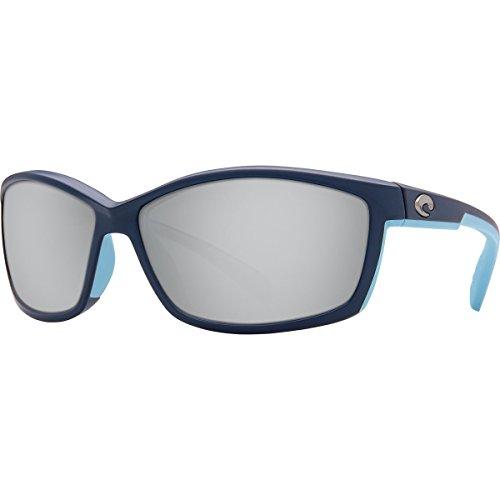 Costa Del Mar MT 123 OSCGLP Manta Sunglasses Matte Heron/Copper Silver Mirror 580Glass