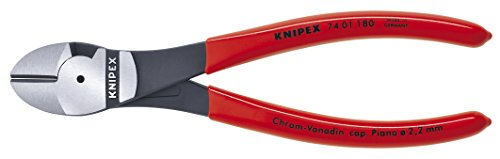 Knipex 7401180 7-1/4-Inch High Leverage Diagonal Cutters by KNIPEX Tools