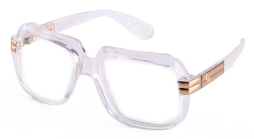 Newbee Fashion - 80's Old School Rapper Hip Hop DJ Glasses -