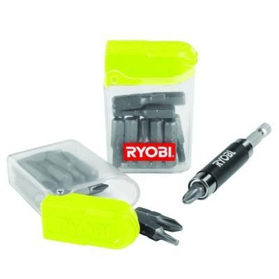 Driver Bit with Compact Screw Guide 30-Piece
