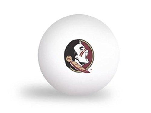 NCAA Florida State University Seminoles 6 pack Ping Pong Balls (State Table Florida Game)
