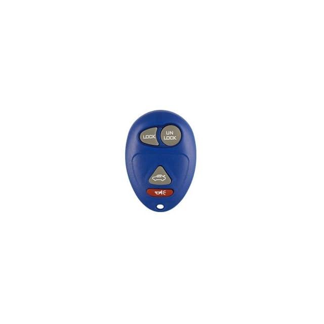 2001 2005 Pontiac Aztec Blue Keyless Entry Remote W/ Free DIY Programming Instructions & World Wide Remotes Guide