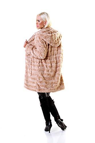 Beige 8 Mujer Para Civico Abrigo Z1qIR