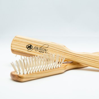 Dog Fashion Spa 100% Static-Free Olive Wood Hair Brush for Dogs