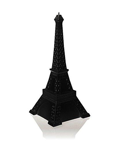 Candellana Candles Candellana- Eiffel Tower Candle-Black Glossy, Large, High
