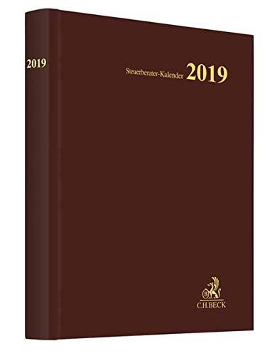 Steuerberater-Kalender 2019 (Schriften des Deutschen wissenschaftlichen Steuerinstituts der Steuerberater e.V.) Kalender – 26. September 2018 C.H.Beck 3406717195 Steuern Nachschlagewerke)