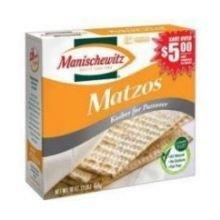Manischewitz Matzo 16 Ounce Boxes (Pack of 30)