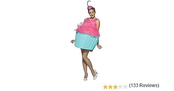 Desconocido Disfraz cupcake para mujer: Amazon.es: Juguetes y juegos
