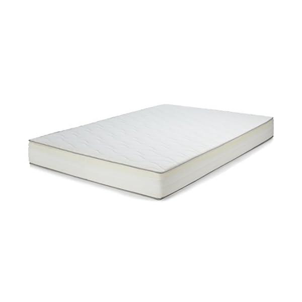AmazonBasics - Materasso extra comfort a 7 zone a molle, Medio, 80 x 190 cm 3 spesavip