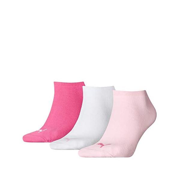 PUMA Invisible 3p Calza Sneaker Unisex - Adulto (Pacco da 3) 2