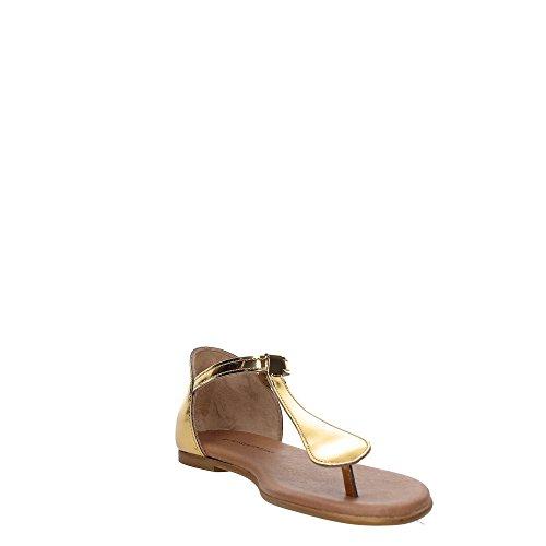 Trussardi Jeans 79S603 Sandalia Mujer Oro