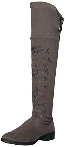 Circus by Sam Edelman Women's Princeton Over the Knee Boot Stone Blue eamZlu