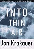 Image of By Jon Krakauer: Into Thin Air
