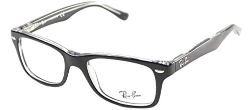 Ray Ban Junior RY1531 Eyeglasses-3529 Top Black On ()