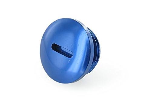 Plug - Aluminio - Azul (Embrague actitud), sin anillas: Amazon.es: Coche y moto