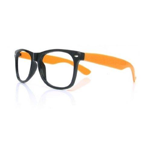 Orange Glasses Lunettes 1 Style Rétro Unisex Pour 5 Lire Reading qSvwz6