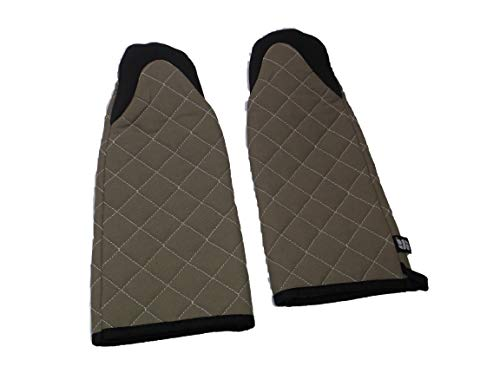 San Jamar 810PM17 Set of 2 - (2) Puppet Style Oven Mitts 17 inch 500 Degrees F Resistance Cotton Neoprene - Brand New, lot of 2 restaurant bakery by San Jamar (Image #7)