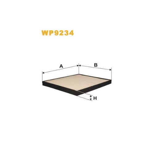 Wix Filters WP9234 Cabin Air Filter: